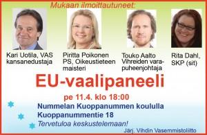 EU vaalipaneeli